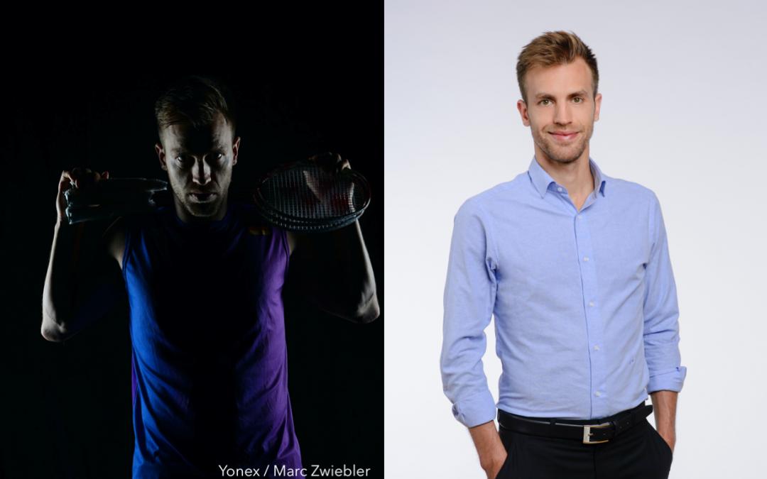 Druck? Stress? Motiviert mich. Kenne ich vom Sport – 5 Fragen an … Marc Zwiebler, Ex-Profi-Badminton-Spieler