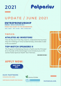 Update June Entrepreneurship for Athletes