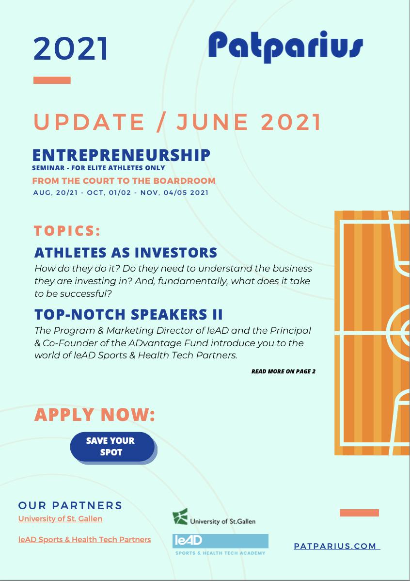 Image Update Entrepreneurship June